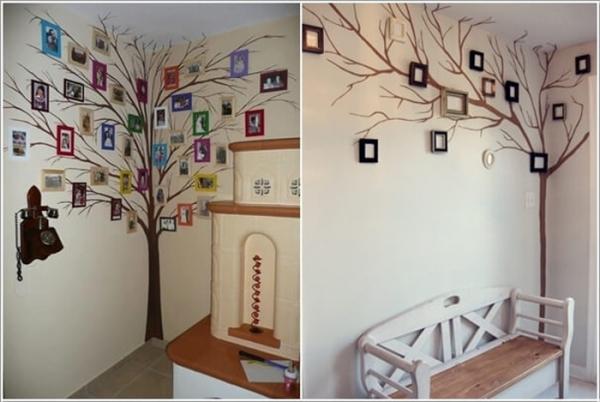 Gợi ý cách biến góc tường trống thành không gian thú vị