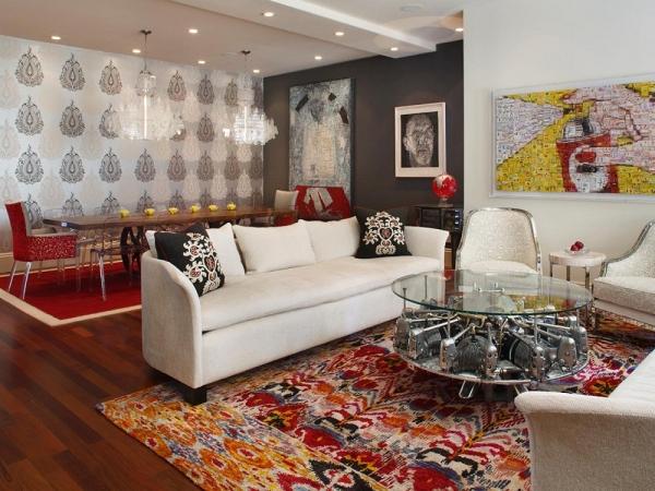 7 cách tạo hiệu ứng mềm mại cho phòng khách của bạn