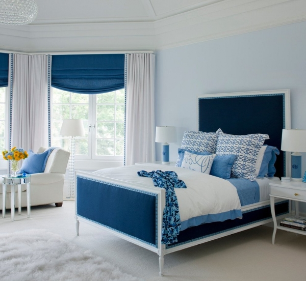 Phòng ngủ màu trắng tạo sự thoải mái cho gia chủ